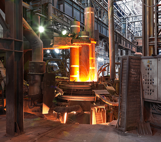 Forging solutions for furnace construction
