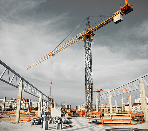 Castings for construction and construction machines