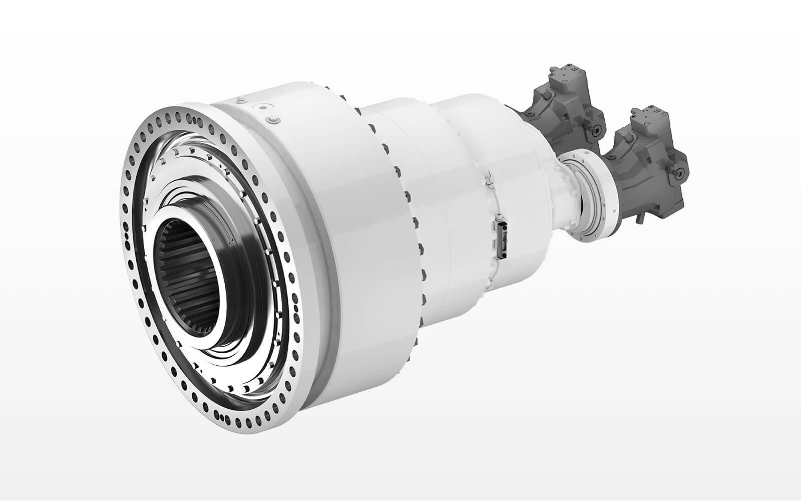 Hydraulic screw conveyor gearbox