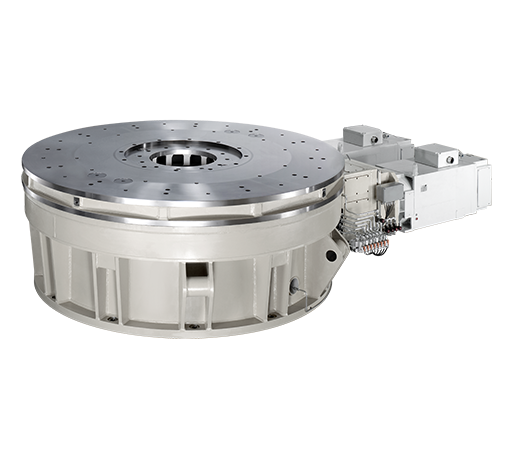 Roller bearing mounted rotary tables