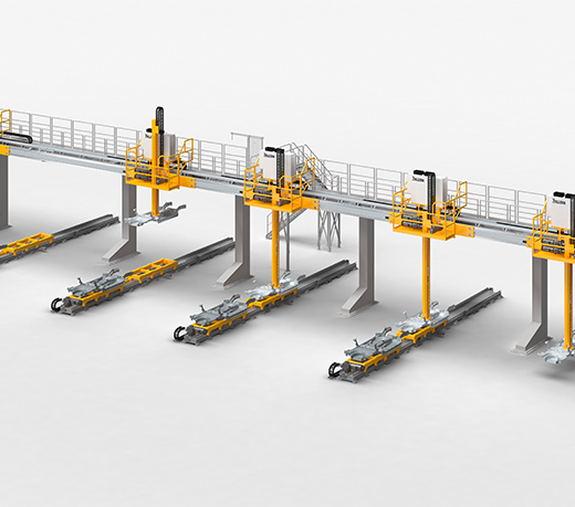Line gantries, area gantries