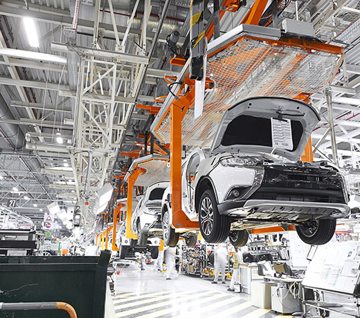 Automation and special systems for vehicle construction