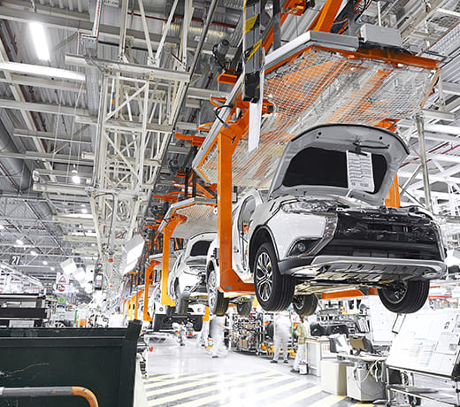 Special profiles for vehicle construction